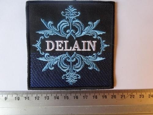 DELAIN - WHITE/BLUE LOGO