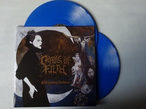 CRADLE OF FILTH - TOTAL FUCKING DARKNESS ( BLUE VINYL )