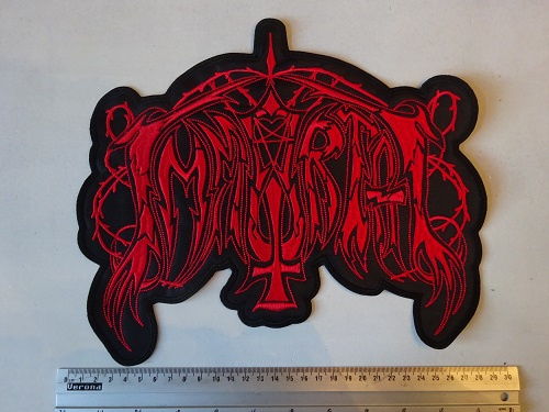 IMMORTAL - OLD LOGO ( RED )