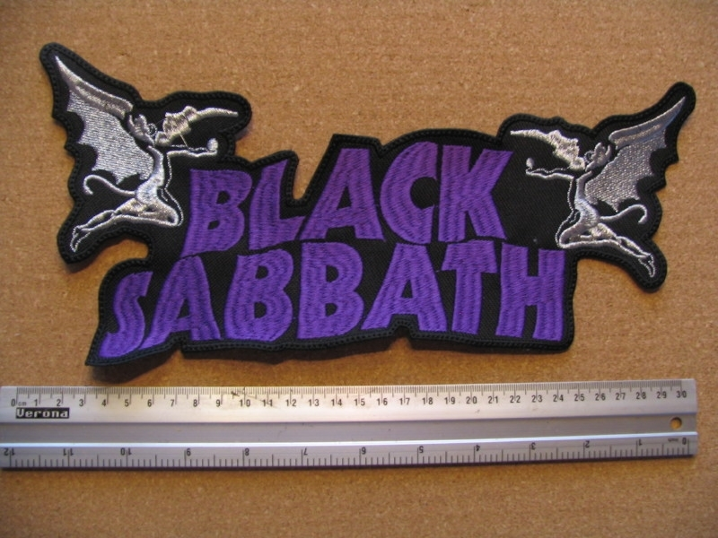 BLACK SABBATH - PURPLE LOGO + DEVIL