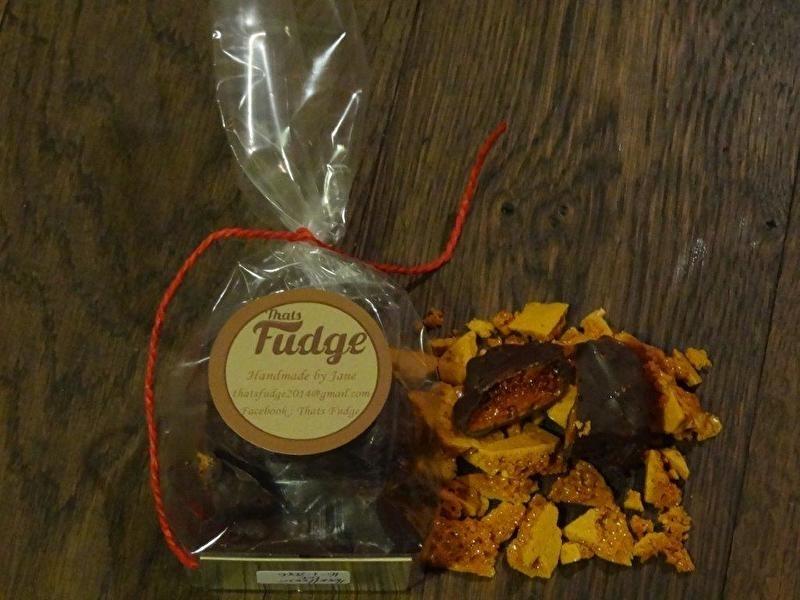 Chocolate cinder toffee