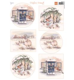 Marianne Design  MB0178 - Mattie's mooiste: Winter 2