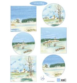Marianne Design IT607 - Winter village