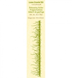 Leane Creatief - Border Embossing - Grass 35.1765