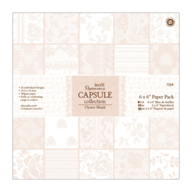 """8 x 8"""" Paper Pack (32pk) - Capsule Collection - Oyster Blush - (PMA 160221)"""