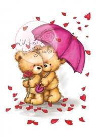 Wild Rose Studio Clearstamp CL283 Raining Roses
