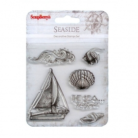 ScrapBerry's Set of stamps 10,5x10,5cm Seaside