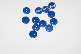 Blauwe knoopjes 10 stuks 11mm