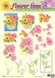 Studio Light - Flower time - STAPFL01