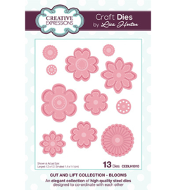 Creative Expressions - CEDLH1010 - Cut and Lift Collection Blooms