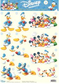 Disney - STAPDIS03 - Donald en familie