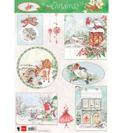 Marianne Design - EWK1270 - Cozy Christmas
