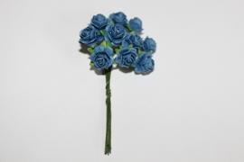 Bloemen blauw 6