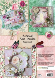 CraftEmotions - Paperpad - Botanical Rose Garden 118040/0203