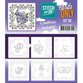 COSTDO10038 Stitch & Do - Cards only - Set 38