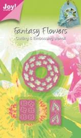 6002/0266 Fantasy Flower - Krans 3D