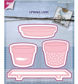 6002/0439 Cutting & Embossing - Spring Love