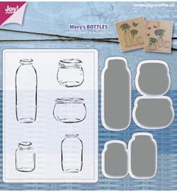 6004/0030 - Stencils & Stamps - Mery's Bottles