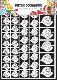 472.948.002 Laser Paper Art A5 wit Leaves