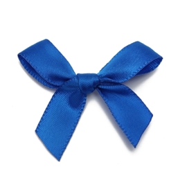 Strikjes blauw 4x3cm