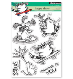 Penny Black - clear stamps Happy Times 30-422