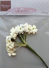 Marianne Design Silk flowers JU0920 Off white/ivoor