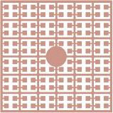 pixelmatje 274 - terracotta extra licht