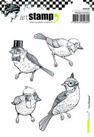 Carabelle Studio SA60230 A6 Stamp Set - Les Oiseaux