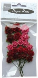 Marianne Design Paper Roses RB2203 Valentine