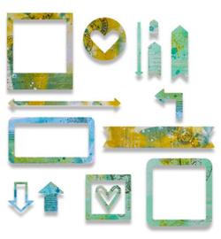 Sizzix - thinlits - 662669 - Frames