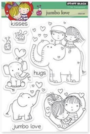 Penny Black - Clear Stamp - Jumbo Love