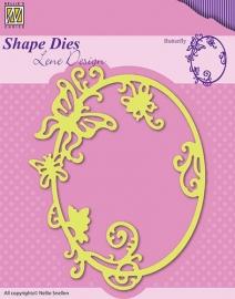 Nellie Snellen - SDL022  Shape Dies - Summer Butterfly
