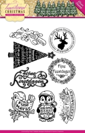 Yvonne Creations - YCCS10022 Clearstamp - Traditional Christmas - Tekst