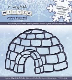 Yvonne Creations - Playful Winter - Igloo YCD10014