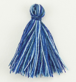 Kwastjes 12317-1705 - Tassel Blue shades