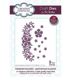 Creative Expressions CED1488 - Nasturtium Cluster