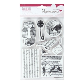 "PMA 907122  ""5 x 7"" Urban Stamps - Bird Print"""