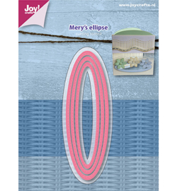 6002/1118 - Snijstencils - Mery's Ellips