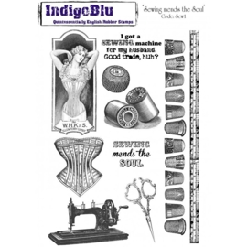 Indigoblu Sewing Mends the Soul A5