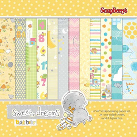 ScrapBerry's Sweet Dreams Paper Set 6x6 Inch 170gsm