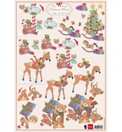 Marianne Design Christmas Wishes 3 EWK1207