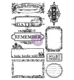 Prima Marketing Cling Stamps Set - Something Blue 813659