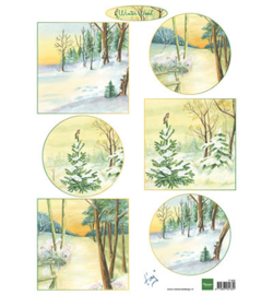 Marianne Design IT606 - Winter wood