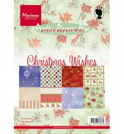 Marianne Design - Christmas wishes - PK9087