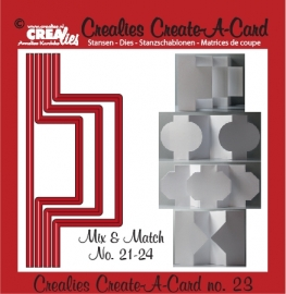 Crealies - Create A Card no. 23 CCAC23