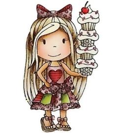Paper Nest Dolls PND1301 Cupcake Ellie