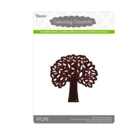 Darice Die cut stencil leafing tree 79x79mm