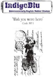 IndigoBlu Cling Stamp A6 - Wish You Were Here