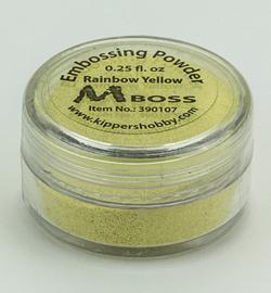 Mboss Embossing powder Rainbow Yellow 390107