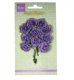Marianne Design Paper Flowers Carnations - dark lavender RB2261